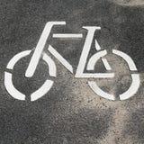 Cycle Lane Royalty Free Stock Images