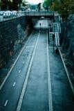Cycle lane Stock Image