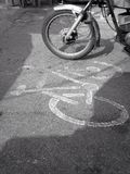 Cycle Lane Stock Images