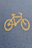 A cycle lane Stock Photos