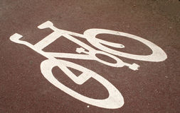 Cycle-path Royalty Free Stock Photos