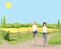 Cycle path Stock Images
