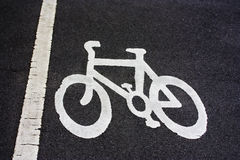 cycle path Stock Photo