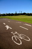 Cycle Path Stock Photography