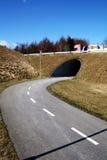 Cycle path Stock Image