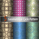 Cycle pattern. Royalty Free Stock Photos