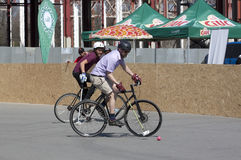 Cycle polo Stock Image