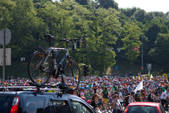 Cycle race Royalty Free Stock Photography
