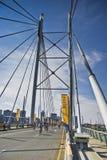 Cycle Race - Mandela Bridge Section Royalty Free Stock Image