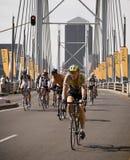 Cycle Race - Mandela Bridge Section Royalty Free Stock Photos