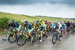 Cycle race Stock Photo