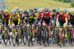 Cycle race Royalty Free Stock Image