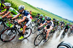 Cycle race Royalty Free Stock Photo