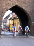 Cycle race in Poland Royalty Free Stock Photography