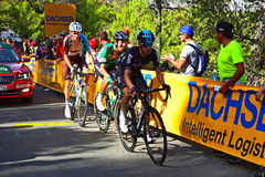 Cycle Race Team Sky  Mikel Nieve And Roman Bardet Stock Images