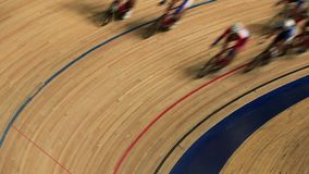 Cycle race track stock video