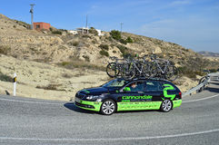 Cycle Racing Cannondale Support Vehicle Royalty Free Stock Images