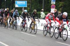 Cycle racing elite berlin 2014 Stock Photography