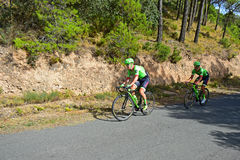 Cycle Racing team Cannondale Drapac Royalty Free Stock Photos