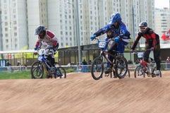 Cycle racings Royalty Free Stock Photo