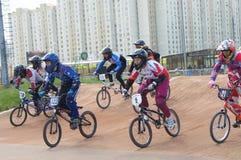 Cycle racings Royalty Free Stock Image