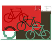 Cycle, recycle graphic Stock Photos