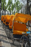 Cycle rickshaw royalty free stock photos