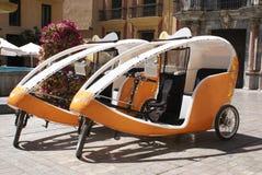 Cycle rickshaws Stock Photos