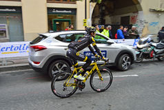 Cycle Road Racing Bryan Nauleau Team Direct Energie Royalty Free Stock Images