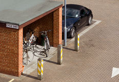 Cycle shed Stock Images