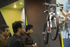 Cycle show Stock Photo