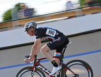 Cycle speedway racing Royalty Free Stock Photos