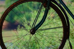 Cycle spokes. Of old cycle wheel stock images