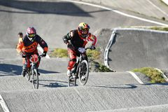 Cycle Sport, Bicycle Motocross, Cycling, Bicycle Racing royalty free stock photo