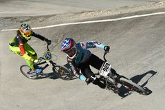 Cycle Sport, Bicycle Motocross, Extreme Sport, Cycling stock photography