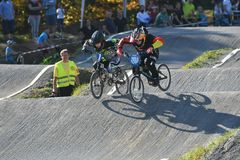 Cycle Sport, Bicycle Racing, Bicycle Motocross, Cycling royalty free stock photography