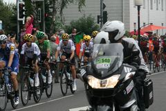 Cycle Sport, Cycling, Bicycle Racing, Vehicle royalty free stock image