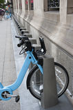 Cycle Stand in Chicago Royalty Free Stock Images