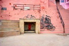 Cycle stand at varanasi india