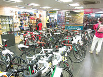 Cycle store. Stock Photography
