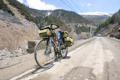 Cycle touring Royalty Free Stock Photo
