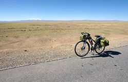 Cycle touring Royalty Free Stock Photos
