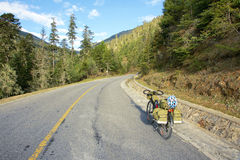 Cycle touring Royalty Free Stock Images