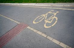 Cycle track Royalty Free Stock Photography