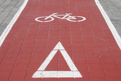 Cycle track Stock Image