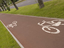 Cycle-Track Royalty Free Stock Photos