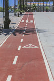 Cycle track. Stock Photography