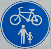 Cycle Track Sign Royalty Free Stock Photos