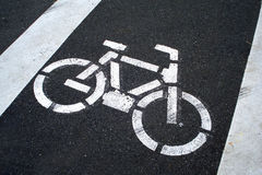 Cycle track Royalty Free Stock Photo