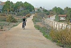 Cycle Tracks stock photo